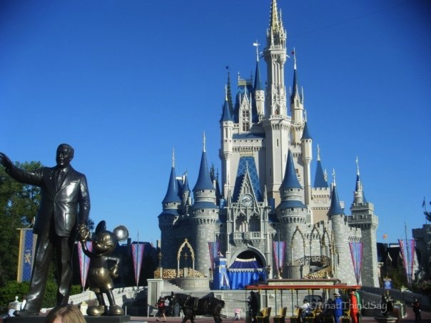 Cinderella's Castle at Magic Kingdom in Florida