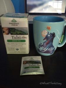 Sunday Morning Green Tea Break