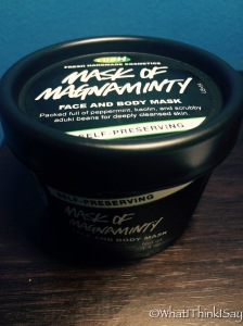 Lush's Mask of Magnanimity