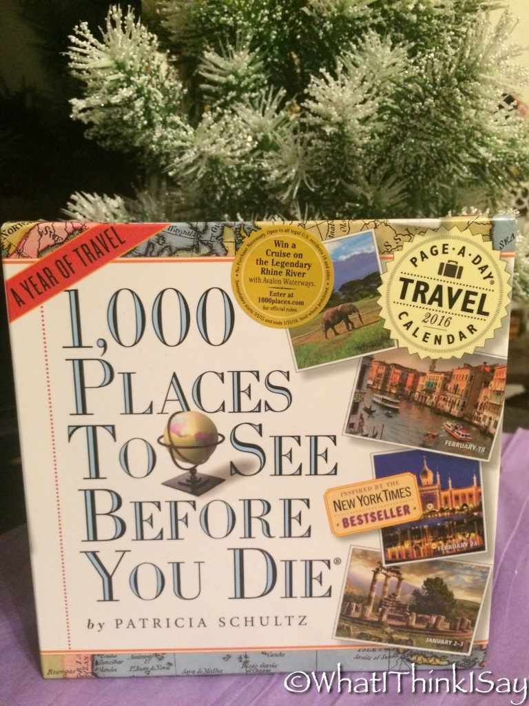 1000 Places to See Before You Die Page-A-Day Calendar